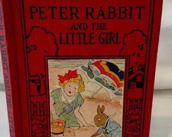 Peter Rabbit And The Little Girl