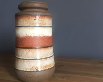 Scheurich fat lava vase 549-21 West German