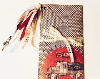 Vintage Truck Traveler's Notebook, Traveler's Notebook Insert, Junk Journal, Traveler's Journal, Traveler's Notebook, Planner, Diary