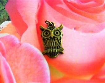 OWL charm holder ring PL 146 3 ring