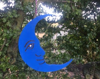 Moon shaped Craft for Garden,bedroom or other