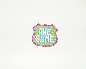 Patch / badge craft or sewing