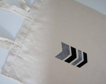 Bag - tote bag - Chevron