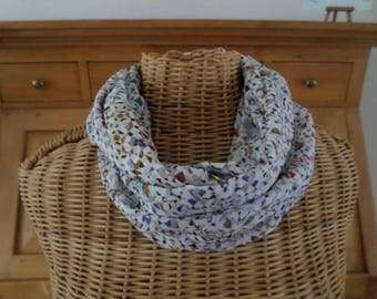 snood scarf in several colors in very good quality fabric