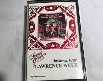 Lawrence Welk Christmas Seasons Greetings Cassette