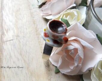 "Princess Ring Alice ""Cup of tea"""