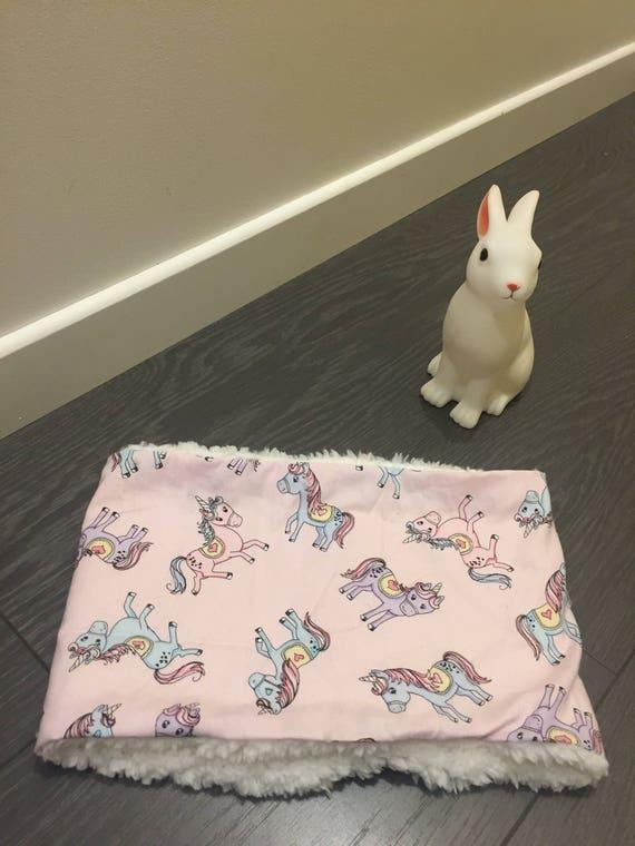 Snood/Choker pink unicorns