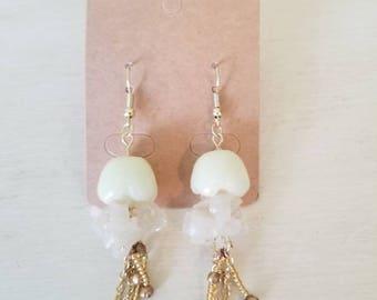 Glow-in-the-dark Jellyfish Earrings