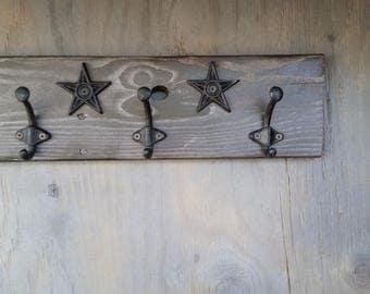 Painted key hook