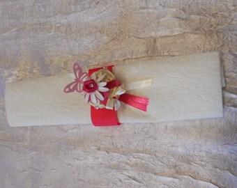 round towel rattan fuschia / white