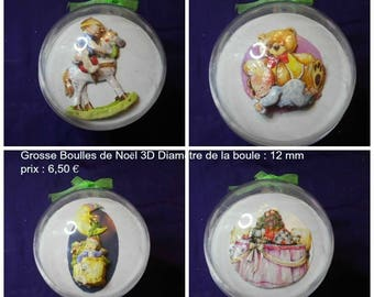 Christmas balls 3D baby first Christmas decoration