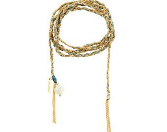 Bracelet/Necklace Mille et une nuits