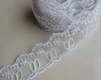 1 meter of lace width 4 cm