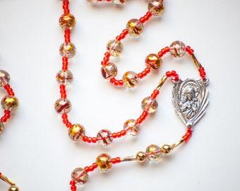 Divine Mercy all-beaded Catholic Rosary
