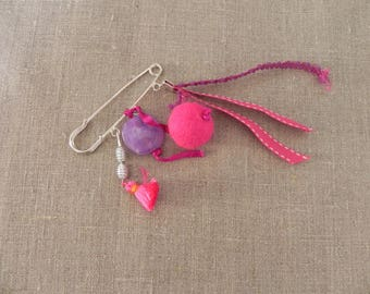 Mother's day: brooch pin - N-12