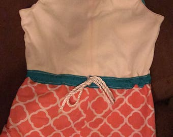 Hand made rompers for babies and toddlers