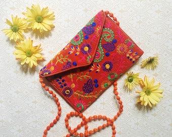 Indian Wallet Clutch Purse