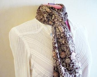 Bali Collection Scarf in Batik Silk - 11