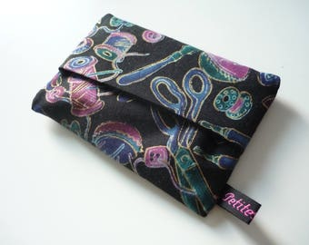 My little sewing fabric Pouch for tissues