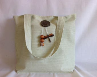 """Dragonfly"" canvas tote bag"
