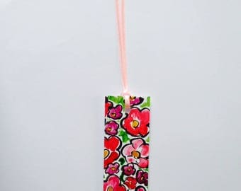 Hand painted bookmark