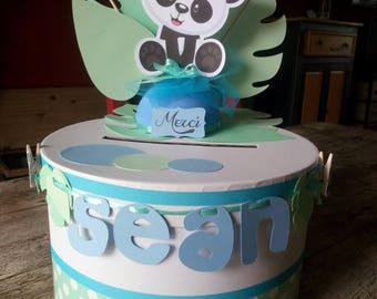 Urn baptism panda