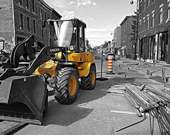 Montreal construction print