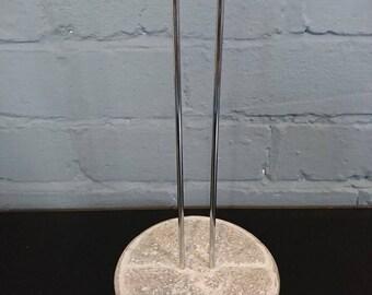 Handmade Concrete Kitchen Roll Holder
