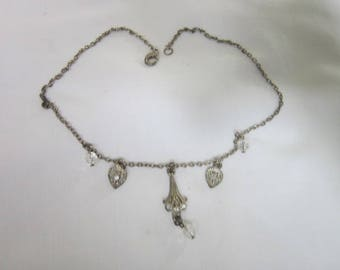 Vintage Costume Antique Style Necklace