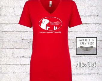 Women's Fitted T-Shirt - Oval Logo