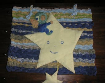 Wall Deco Pixie fabric star