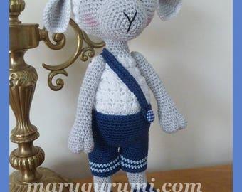 Sheep, Amigurumi crochet plush