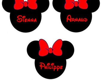 Brand instead black & red minnie