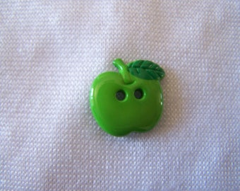 Kids button Apple shape, diameter 18 mm (Bo 2018)