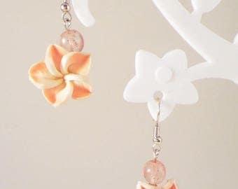 """""""Flower island"""" earrings"""