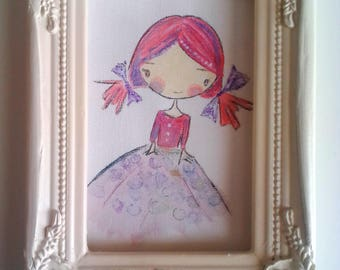 "Adorable ""Lili fantasy"" for a bedroom"