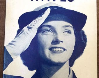 World War Two US Navy WAVES recruiting booklet
