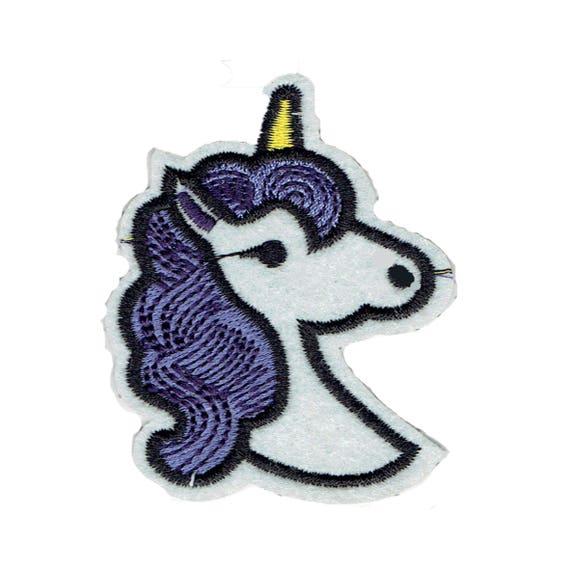 """Patch fusible """"Unicorn"""" design"""