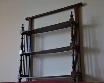 Wood wall shelf 19 th