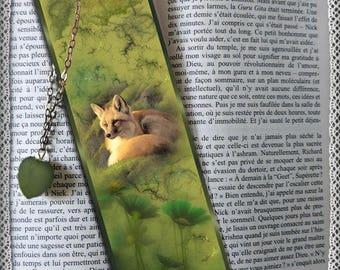 """Marque-pages plastifié """"Hymne à la nature"""""""