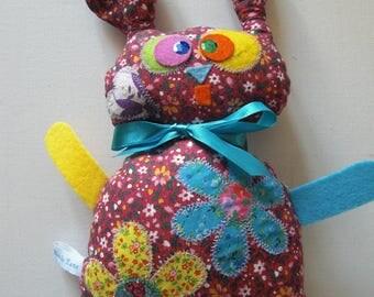 Blanket decorative red rabbit Marius