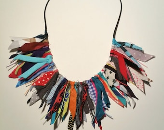 Ethnic inspired necklace