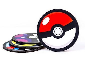 Pokemon Go Pokeball Coaster Set