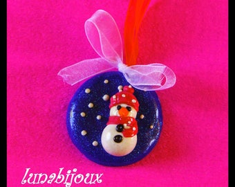 Figurine decoration for decorating Christmas tree gift