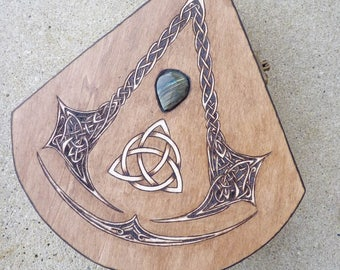 Available: Box Celtic unique shape