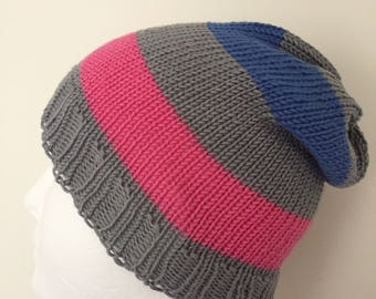 Androgynous Pride Slouchy Beanie Hat