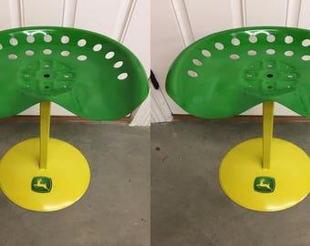 Vintage John Deere Antique Tractor Seat - Bar Stool - ballbearing swivel seat & Tractor seat stool | Etsy islam-shia.org