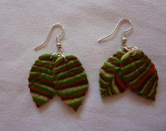 """autumn leaves"" earrings"