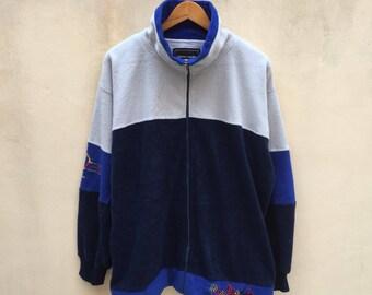 Vintage Pierre Cardin Sweater Jacket Jumper Pullover L Size 90s Rare Item