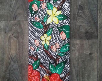"""""""Flowers"""" painting done in acrylic"""